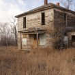 Weathered and Worn house - Stock Photo