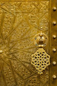 Architectural details and doorways of Morocco — 图库照片