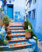 建筑细节和摩洛哥的门口 — 图库照片
