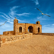 Old fortress in Essaouira overlooking the Atlantic Ocean, Morocco — Stock Photo