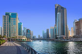 A general view of a residential area of Dubai, UAE — Stock Photo
