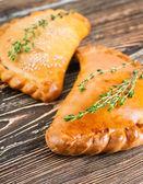 Fresh pies — Stock Photo