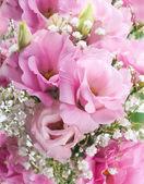 Blumenstrauß aus Rosen, Blumen Hintergrund — Stockfoto