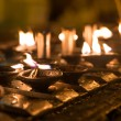 Ritual candles in Shwedagon Pagoda — Stock Photo #38207297