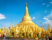 Pagode de shwedagon à yangon — Photo