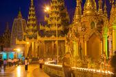 Shwedagon Pagoda in Yangon — ストック写真