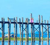 U-Bein Bridge — Foto de Stock