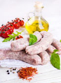 Munich sausages — Foto Stock