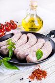 Munich sausages — Stock fotografie