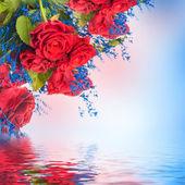 Fundo floral — Fotografia Stock