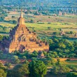 Stockfoto: Ancient pagodas in Bagan