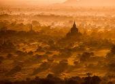 Antiche pagode di bagan — Foto Stock