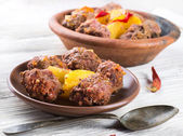 Moroccan meatballs — Stock Photo