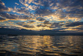 Dawn on Inle Lake — Foto Stock