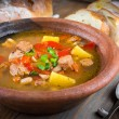 Soup with meat — Stock Photo #44874649