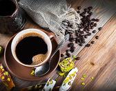 Turk and coffee Turkish delight — Foto de Stock