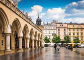 Krakow historical center — Foto Stock