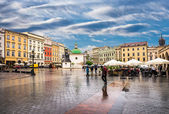 Historyczne centrum krakowa — Zdjęcie stockowe