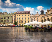 Krakow historical center — Stock Photo