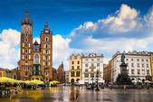 Krakow historical center — Stock Photo