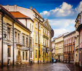 Strade di Cracovia — Foto Stock