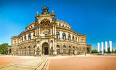 The ancient city of Dresden, Germany — Stock Photo