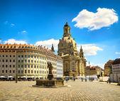 A antiga cidade de dresden, Alemanha — Fotografia Stock