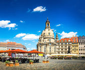 The ancient city of Dresden, Germany — Stockfoto