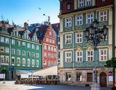 Wroclaw - Poland's historic center — Stock Photo