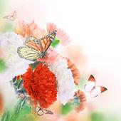 Floral φόντο — Φωτογραφία Αρχείου