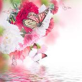Fondo floral — Foto de Stock