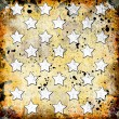 White stars on grunge background — Stock Photo #11507464