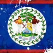 Royalty-Free Stock Photo: Grunge Belize flag