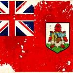 Grunge Bermudas flag — Stock Photo