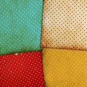 Vintage patterns on paper background — Stock Photo
