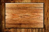 деревянная рамка фон — Стоковое фото