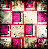 Grungy chessboard background with stains — ストック写真