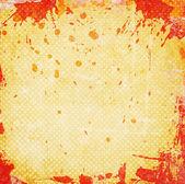 Fondo grunge naranja con manchas — Foto de Stock