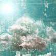 Stock Photo: Grunge sky background