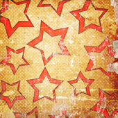 Grunge background with scattered stars — Stock Photo