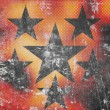 Stars on grunge background — ストック写真