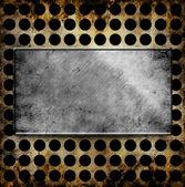 Metalowe tła szablonu — Zdjęcie stockowe