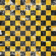 Vivid grunge chessboard backgound — Stock Photo