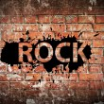 Постер, плакат: Grunge rock music poster