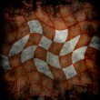 Grungy chessboard background - 图库照片