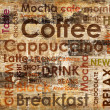 Stock Photo: Sorts of coffe on wooden background