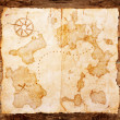 Old treasure map — Stock fotografie