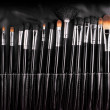Stock Photo: Professional cosmetic brushes