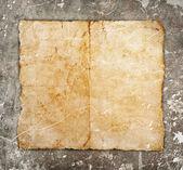 Grunge zemin üzerine eski kağıt — Stok fotoğraf