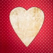 Vintage heart — Stock Photo